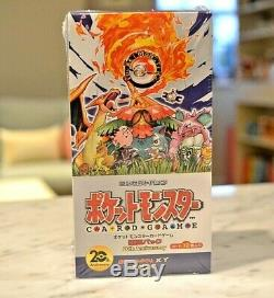 Pokemon Cards CP6 Booster Box BREAK 20th Anniversary First Edition Japanese