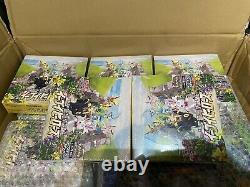 Pokemon Eevee Heroes Booster Box S6a Japanese In Hand U. K. Seller