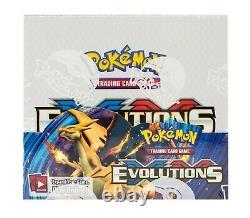 Pokemon Evolutions XY English Booster Box Brand New Sealed