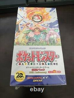Pokemon JAPANESE XY Evolutions CP6 Booster Box Sealed 20th Anniversary Set 1st