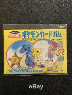 Pokemon Japanese Topsun Southern Islands Booster Pack Factory Sealed Very Rare