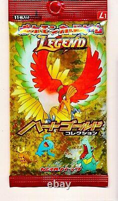Pokemon LEGEND Heart Gold collection Booster 1 Pack Sealed Japanese Card