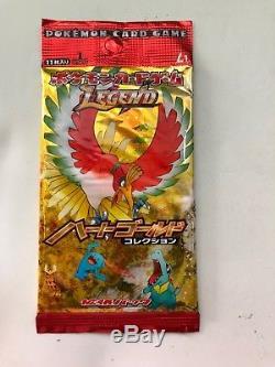 Pokemon LEGEND Heart gold 1st Edition Sealed Japanese Booster Box Rare