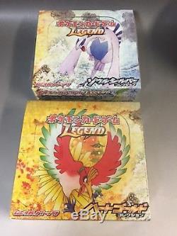 Pokemon LEGEND SOUL SILVER Heart gold L1 1st Edition Booster Box Rare japan