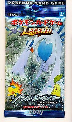 Pokemon LEGEND Soul Silver collection Booster 1 Pack Sealed Japanese Card