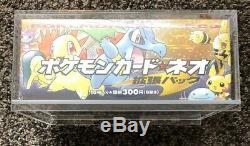Pokemon Neo Genesis 1 Japanese Sealed Booster Box (60 Packs)