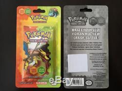 Pokemon Sealed Fire Red Leaf Green Blister Pack Booster Charizard Blastoise NM