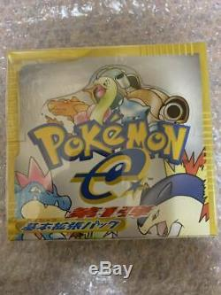 Pokemon Sealed Japanese Expedition Base Set Booster Box! 1st edition Cards02