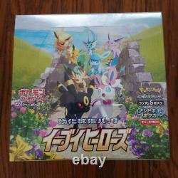 Pokemon Sword & Shield Enhanced Expansion Pack Eevee Heroes 1 Box