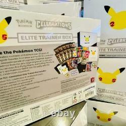 Pokemon TCG Celebrations 25th Anniversary Elite Trainer Box New & Sealed