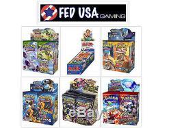 Pokemon TCG Custom Booster Box Case, 6 Box Bundle Sun & Moon