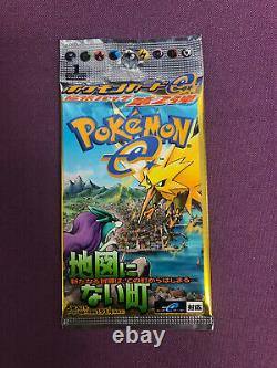 Pokemon TCG The Town On No Map 1st Edition Japanese Booster Pack Sealed