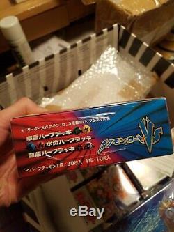 Pokemon VS Fire/Water 1st Edition Booster Box MINT! Charizard RARE