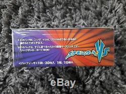 Pokemon VS Series Booster Box Sealed 1st Edition Fight Psychic Japanese Cards