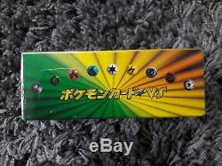 Pokemon VS Series Booster Box Sealed 1st Edition Lightning Grass Japanese Cards