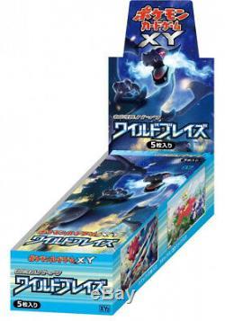 Pokemon XY Booster Wild Blaze Sealed Box XY2 Japanese
