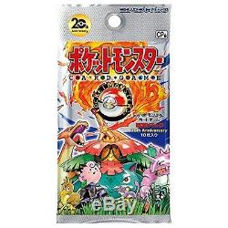 Pokemon XY Break 20th Anniversary Booster BOX Card Game