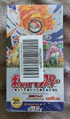 Pokemon XY Break 20th Anniversary CP6 1st Edition Booster Box New Japanese