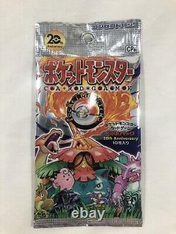 Pokemon XY Break CP6 20th Anniversary 1st Edition Japanese Booster Pack
