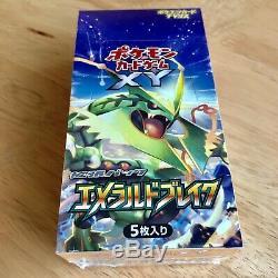 Pokemon XY6 Emerald Break Sealed Booster Box (1st Edition!) Japanese 2015