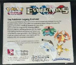 Pokemon Xy Evolutions Booster Box New & Sealed Now Out Of Print