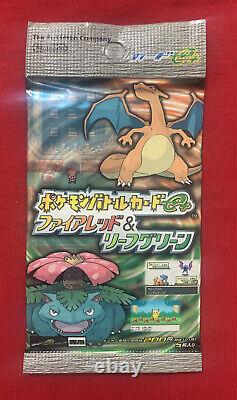 Pokemon card Battle E + Fire Red & Leaf Green Booster pack(from box)very rare