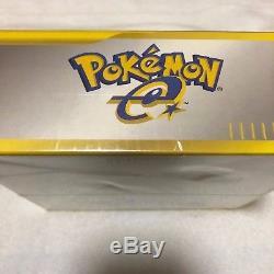 Pokemon e-Card Base Set Booster Box 1st Edition Japanese Sealed New Vintage