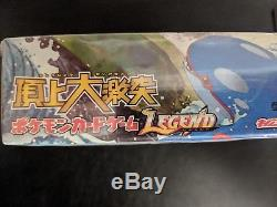 Pokemon japanese clash at the summit sealed 1st edition booster Box LEGEND (2)