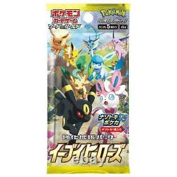 Pre-order Pokemon Card Sword & Shield Eevee Heroes Booster box VMAX Promo