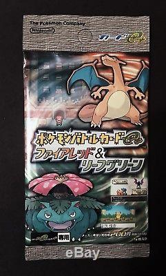 (Qty 18) 2004 Pokemon Battle eseries Firered & Leafgreen Booster Pack (Japanese)