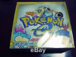 RARE! Pokemon e-Card Base Set Booster Box 1st Edition F/S from JAPAN withTracking
