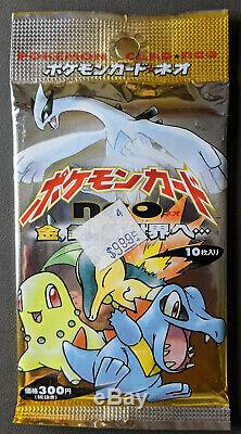 Sealed 1999 Neo Genesis Japanese Booster Pack Vintage Pokemon