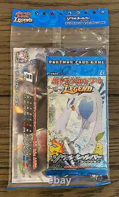 USA Pokemon LEGEND Soulsilver HGSS Sealed Booster Pack Bundle (1st Edition)