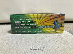 VS Series 1st 1ED Lighting Grass Sealed Half Deck Booster Pack Leaders Pokemon