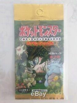 Vintage Japanese Pokemon Booster Packs (bulk Pack) Factory Sealed