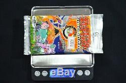 WEIGHED HEAVY New / Sealed Japanese Pokemon Base Set Booster Pack 1996 291 Yen
